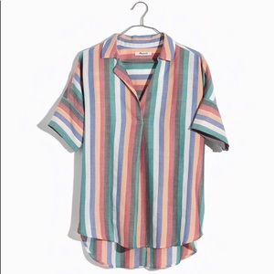 Festival stripe courier shirt